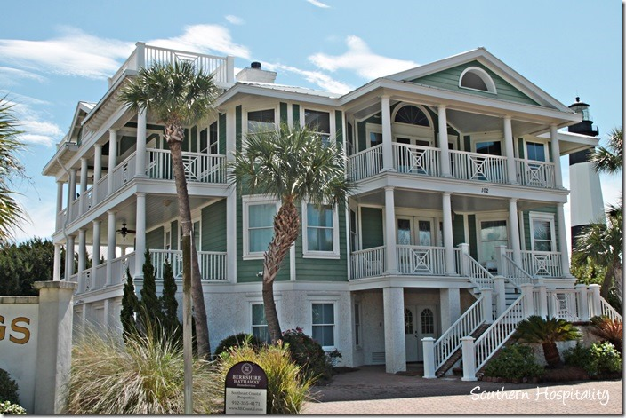 September at tybee island southern hospitality for Large beach house