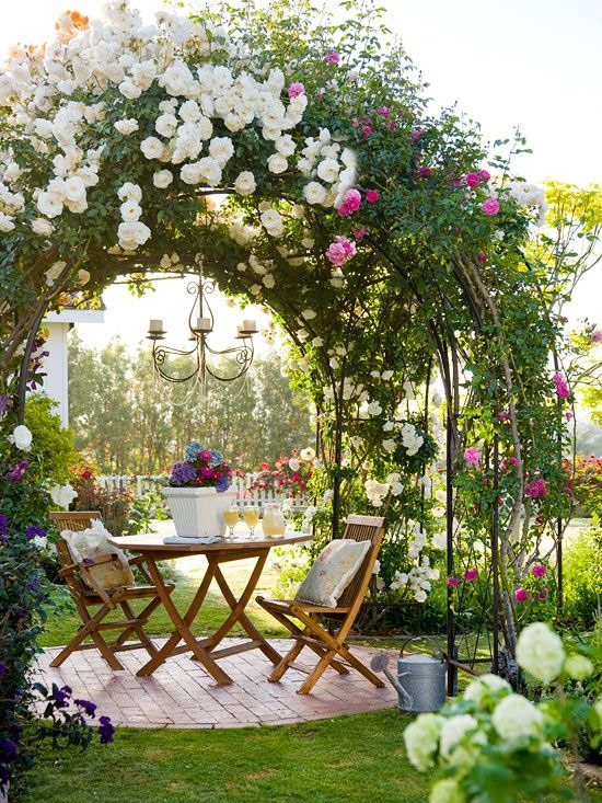 Garden Patio On Pinterest Beautiful Gardens Secret