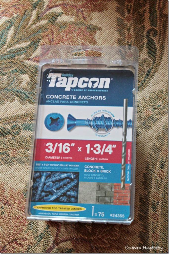 concrete screws
