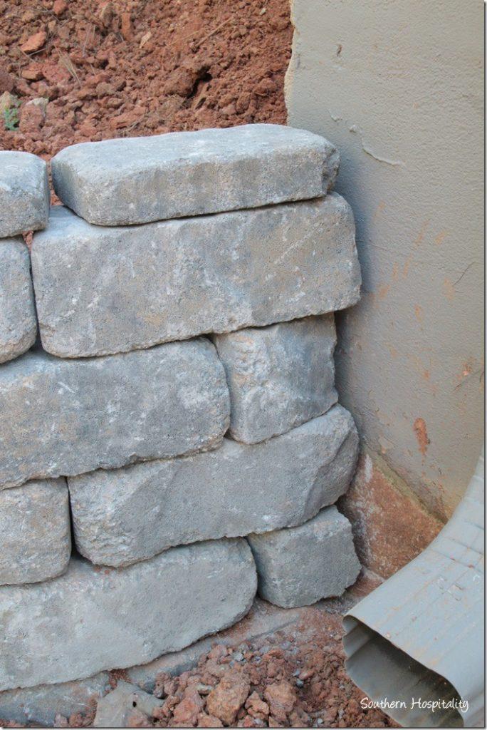corner of wall