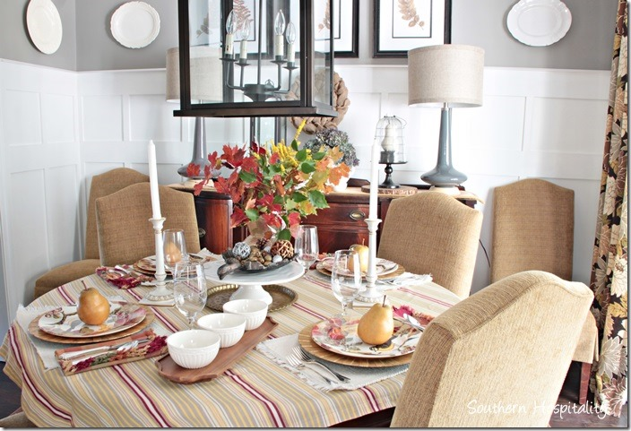 Thanksgiving Table Setting Ideas - Southern Hospitality