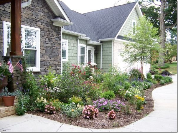 Low Maintenance Landscaping Ideas Curb Appeal Driveways