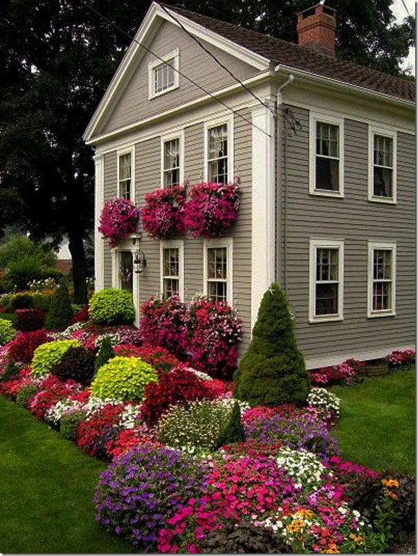 landscaping ideas for craftsman home - home ideas