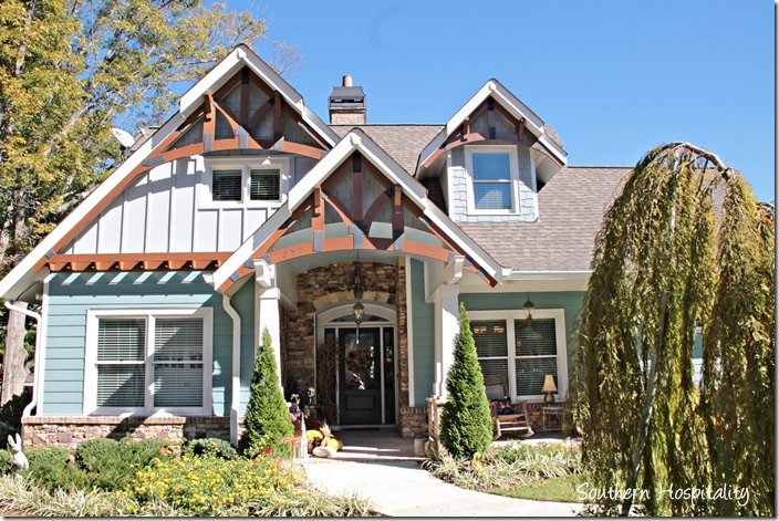 Feature friday a cottage in marietta ruby 39 s inspiration for Craftsman lake house