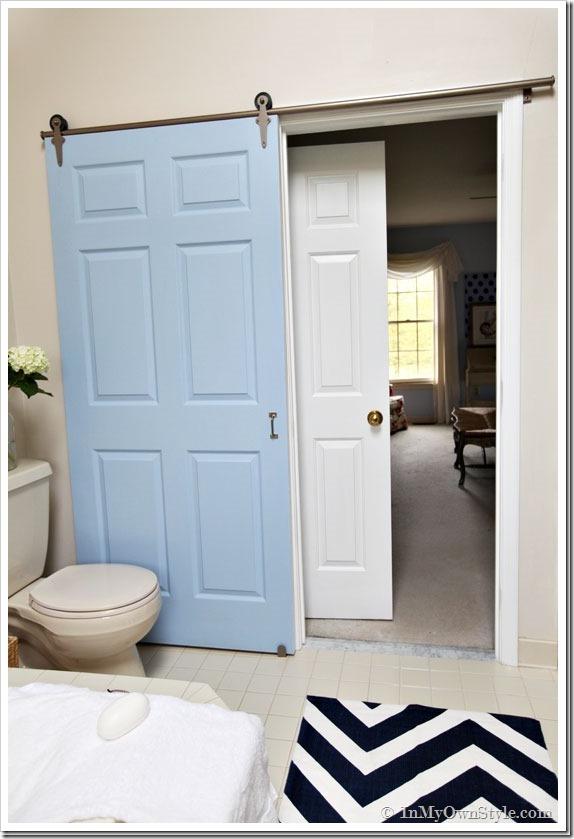 master bath door
