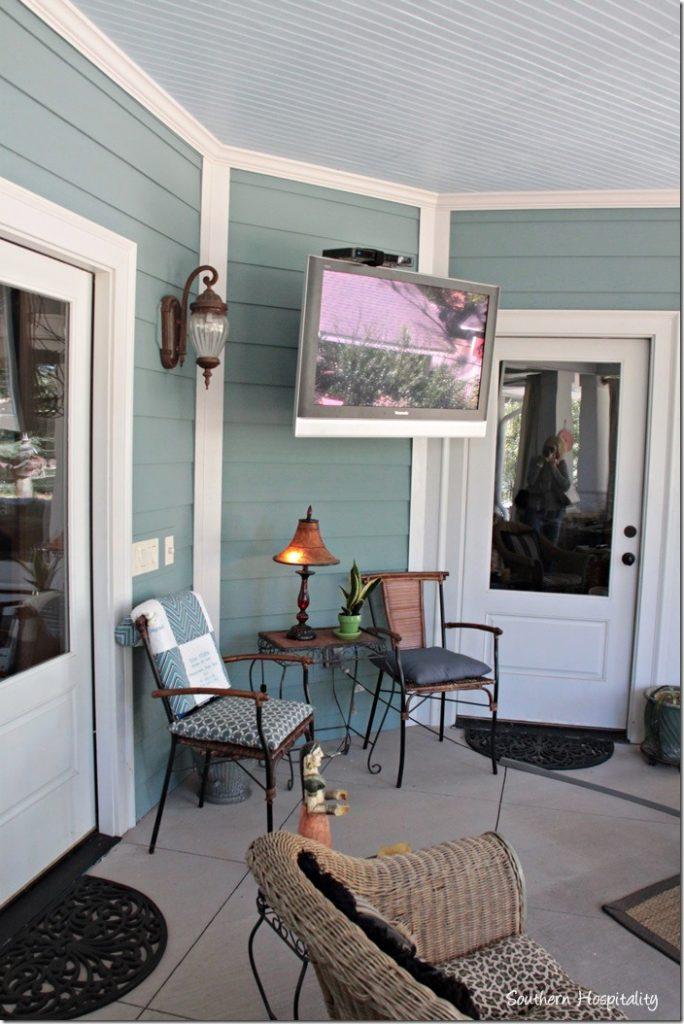 outdoor porch
