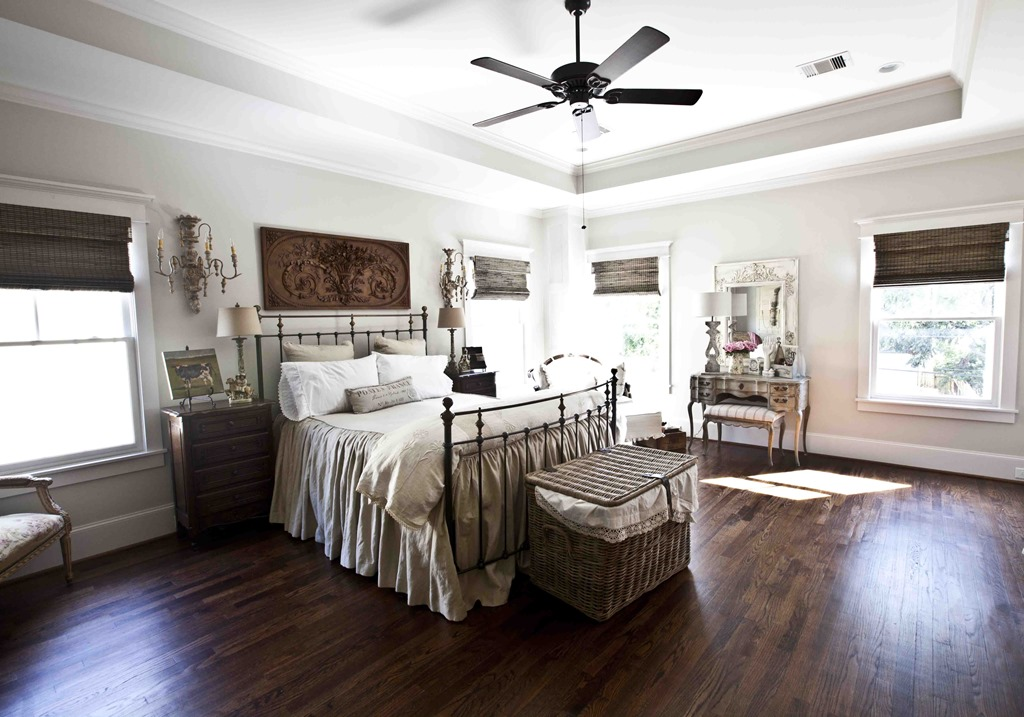 Feature Friday: Cedar Hill Farmhouse - Southern Hospitality on Master Bedroom Farmhouse Bedroom Images  id=82321