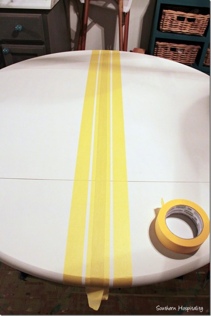 taping small stripes