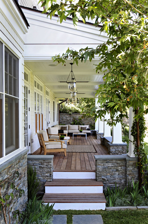 front porch style design