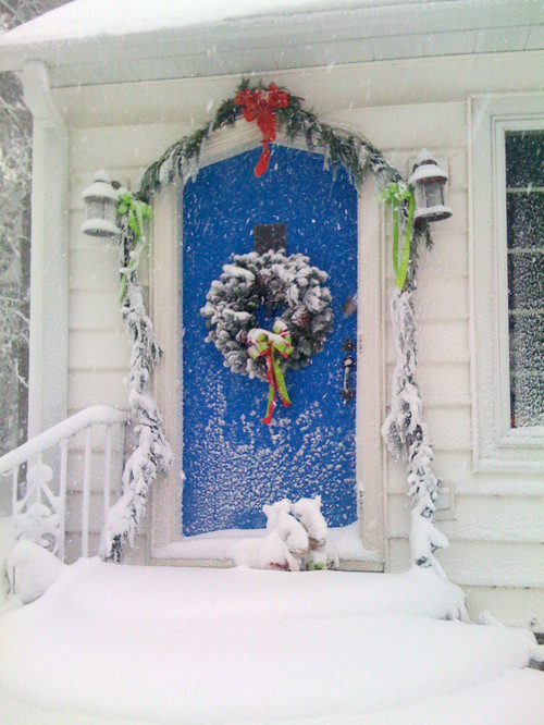 paint front door increase curb appeal