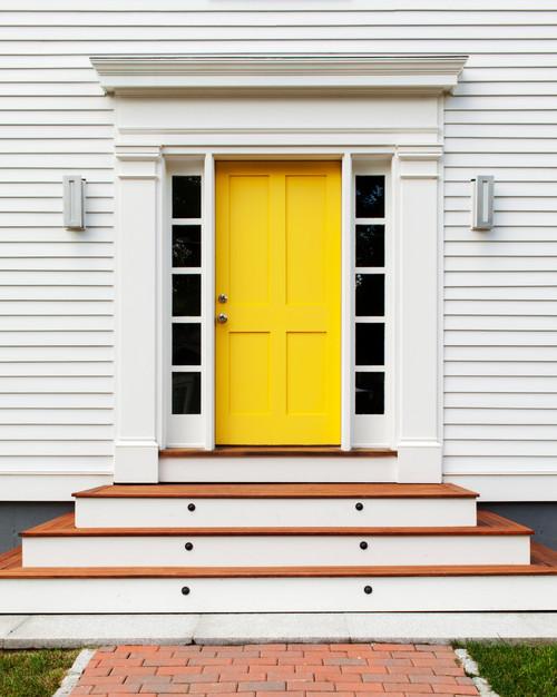 exterior painting front door