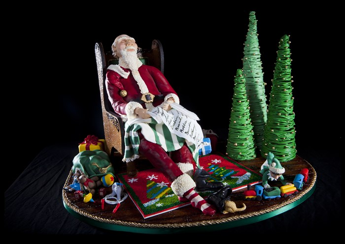 Omni Grove Park Inn's National Gingerbread House Competition 2014