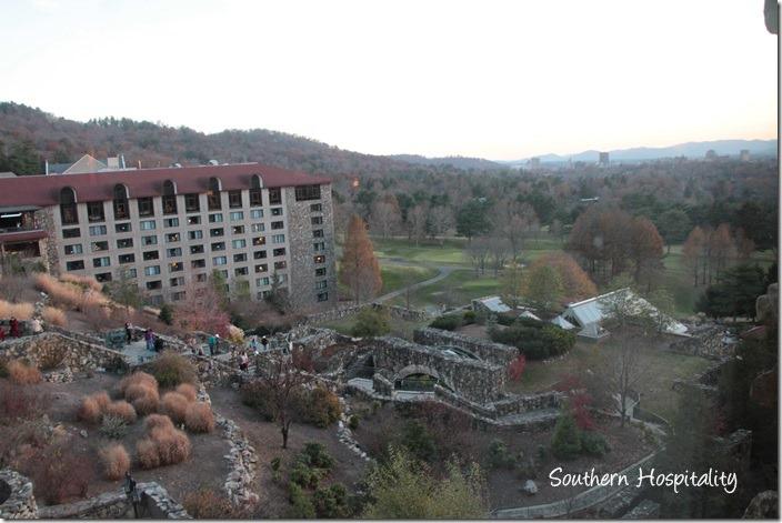 grove park inn looking below