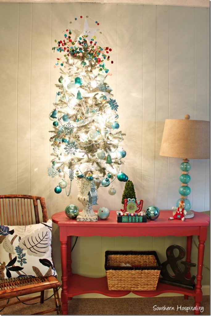 console table Christmas