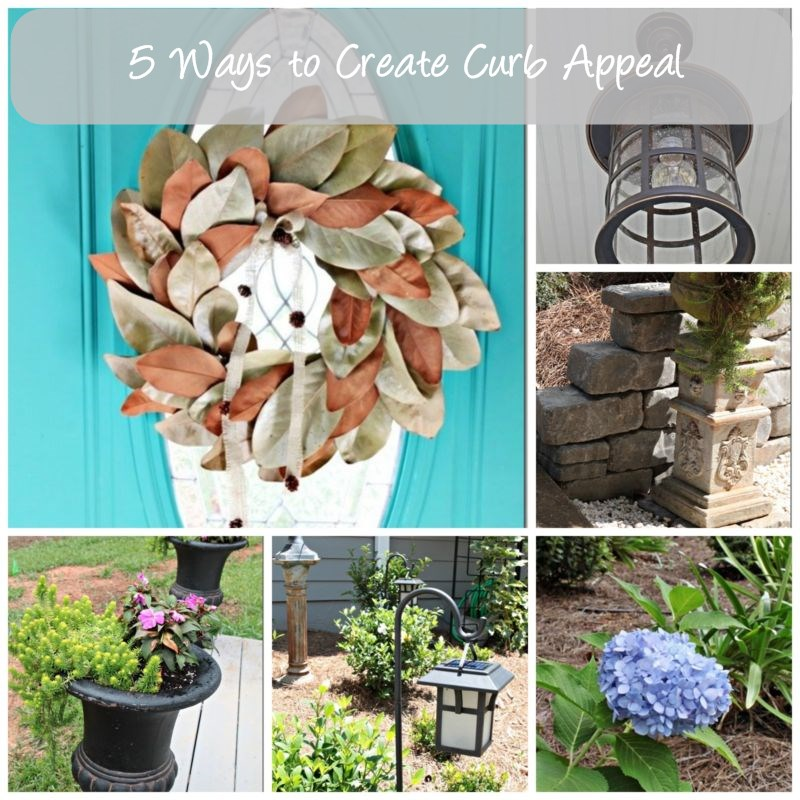 curb appeal collage