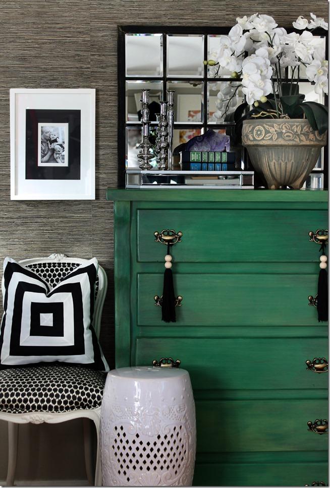 Hunted Interior - Green Dresser - 2012