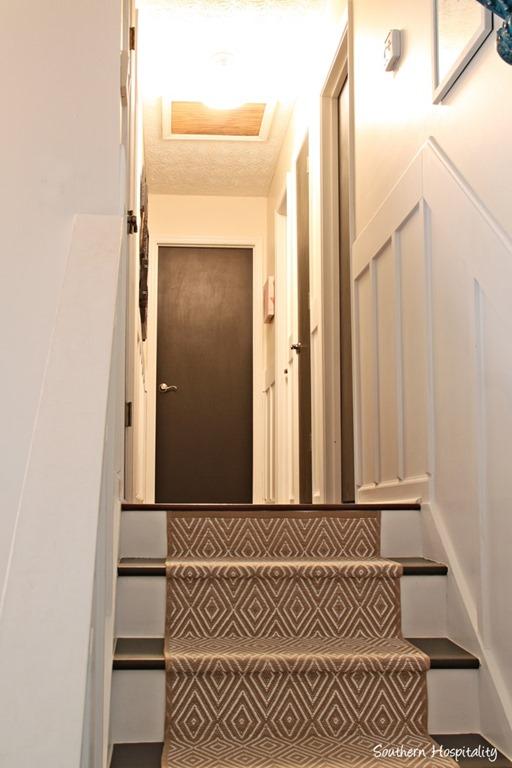 painting interior doors black southern hospitality. Black Bedroom Furniture Sets. Home Design Ideas