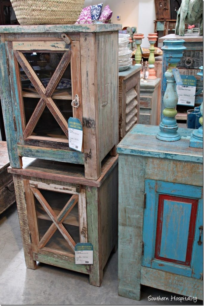Lots of reclaimed wood furniture too, which is still all the rage. - Magazine Street New Orleans - Southern Hospitality