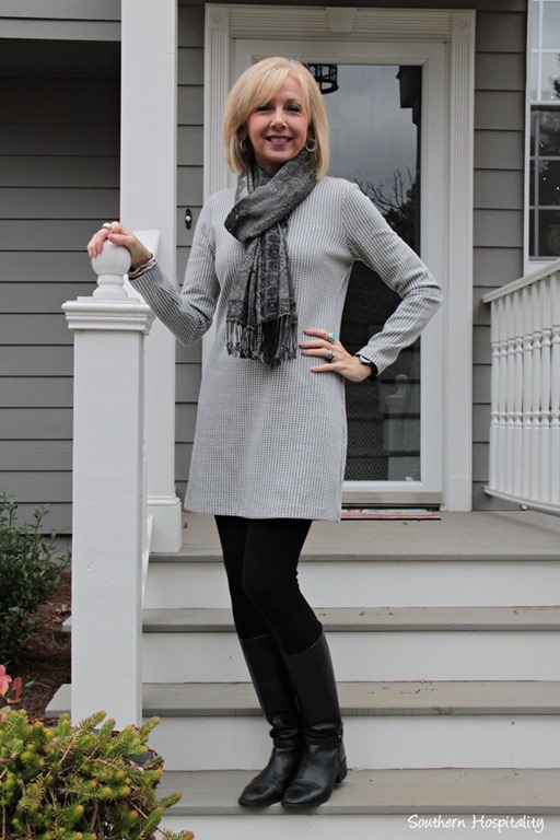 Fashion Over 50 Boots and Dresses , Southern Hospitality
