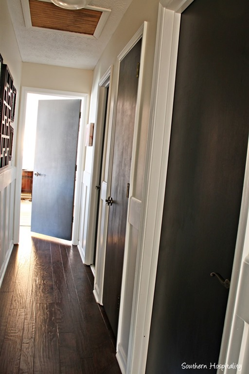 Painting Interior Doors Black Southern Hospitality