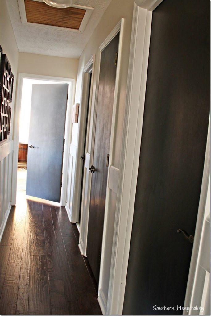 paint interior doorsPainting Interior Doors Black  Southern Hospitality