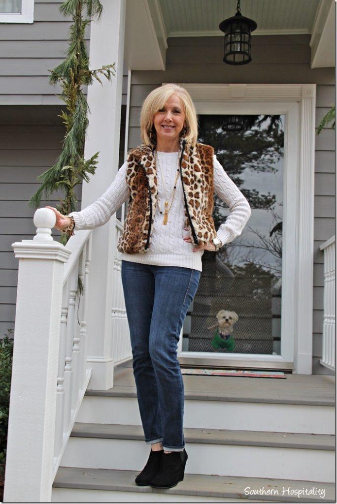 Gray Skinny Jeans Women