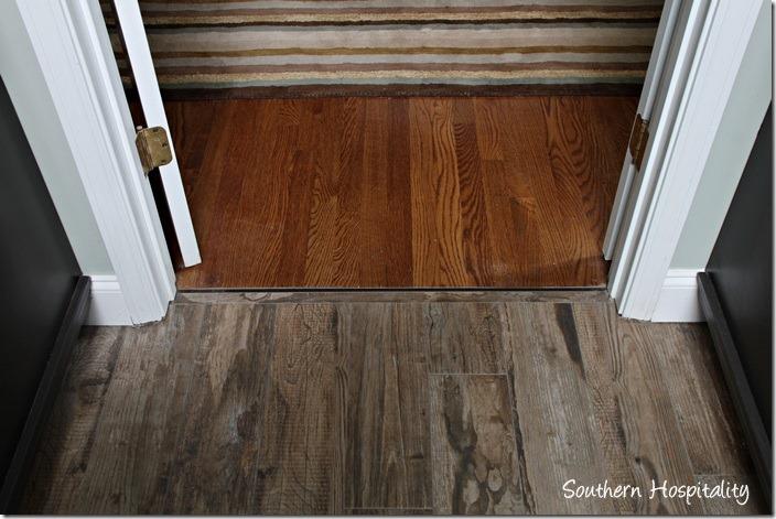 tile meeting wood