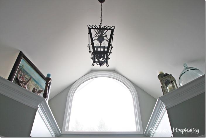 window above shower