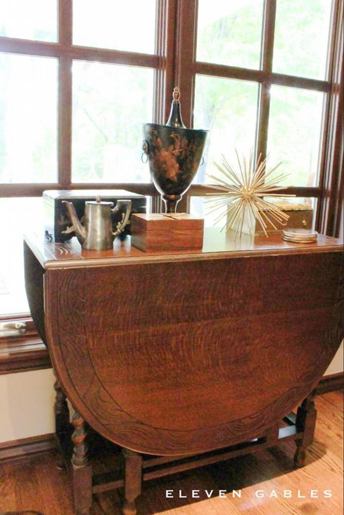 family room drop leaf table