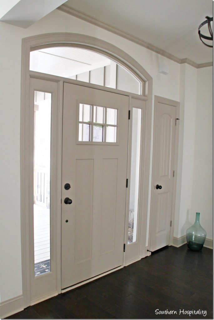 White Interior Front Door ruby moved in the lake cottage - southern hospitality