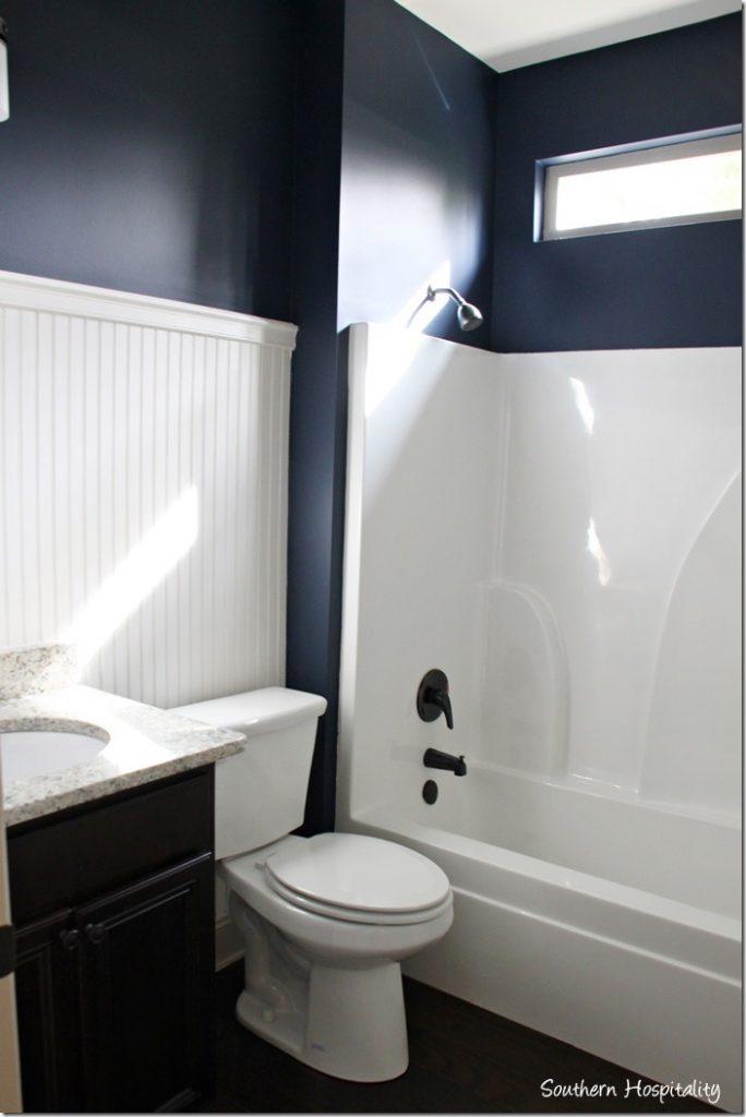 guest blue bath