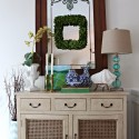 nadeau console styled