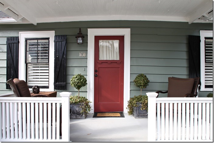 porch bungalow & Feature Friday: Buck\u0027s Bungalow - Southern Hospitality
