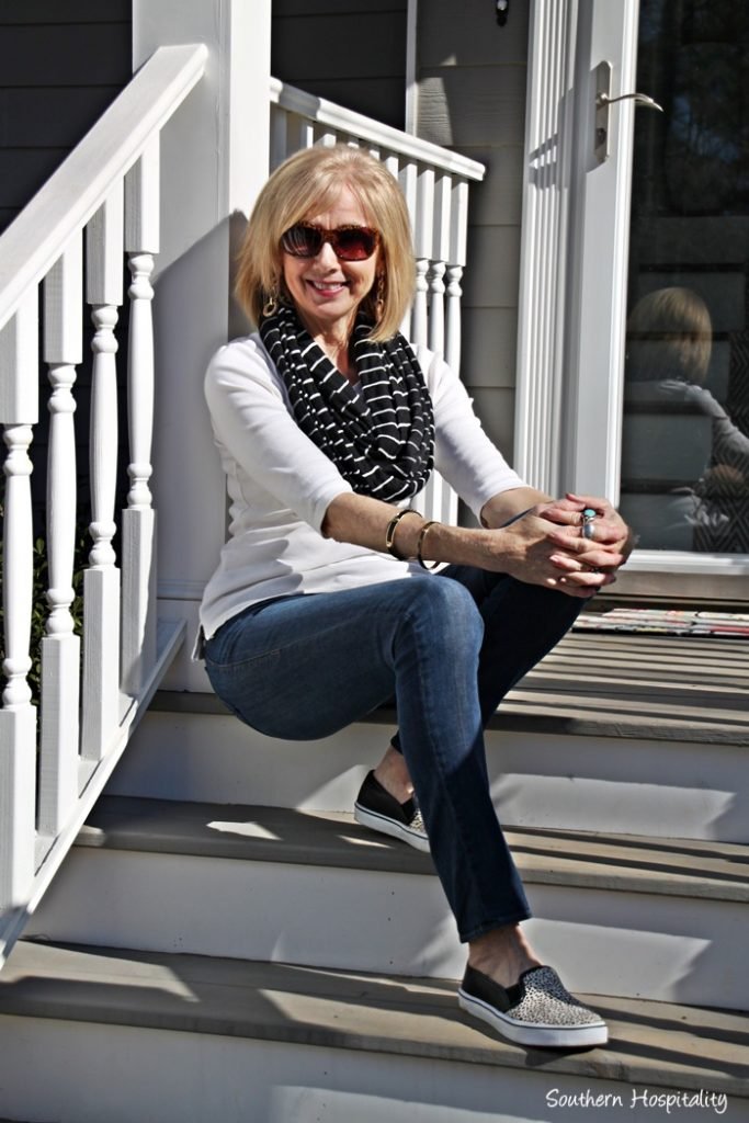 Fashion Over 50 Casual Jeans Outfits Southern Hospitality