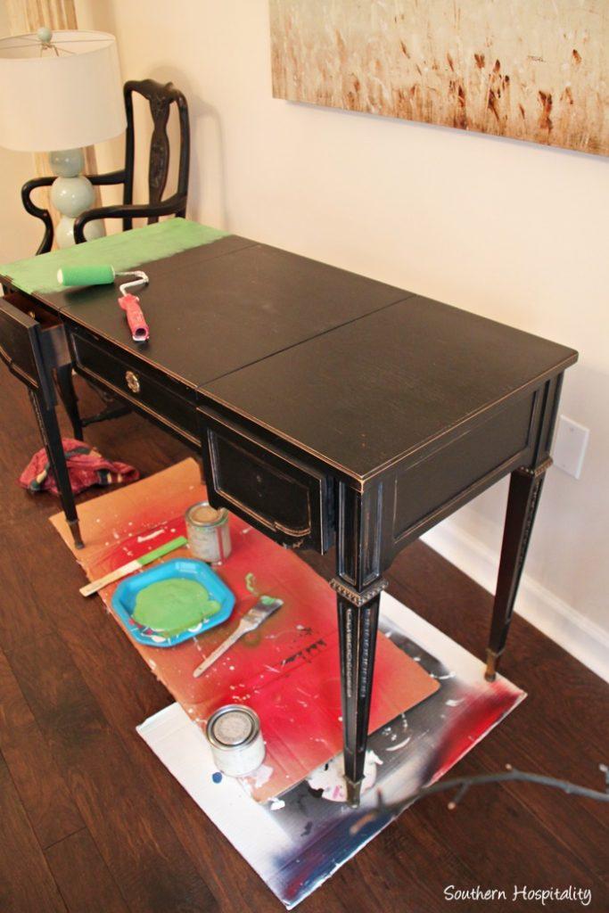 painting desk 2