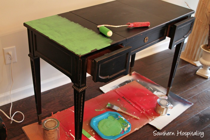 Updating Furniture with Paint - Southern Hospitality