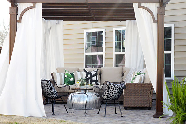 Lovely Bethany DeVore Patio Style Challenge