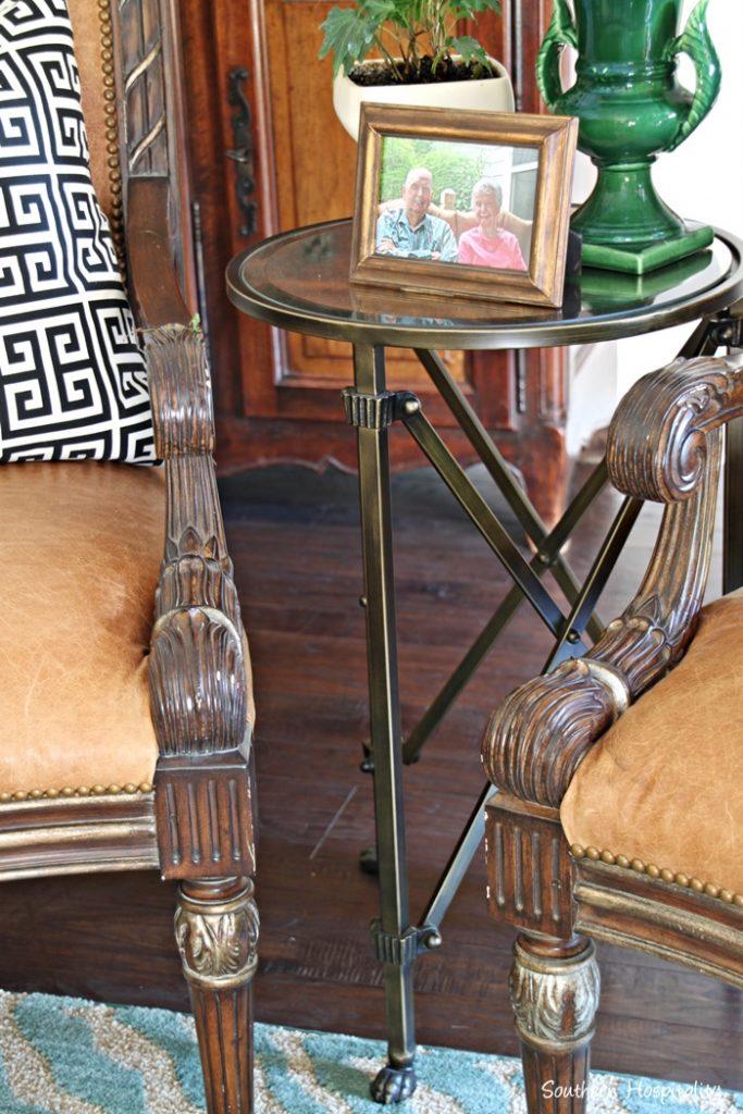 ballard metal table