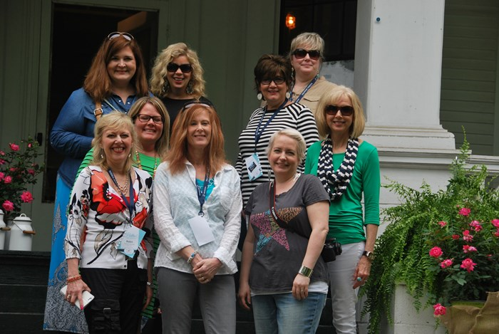 bloggers with Esther