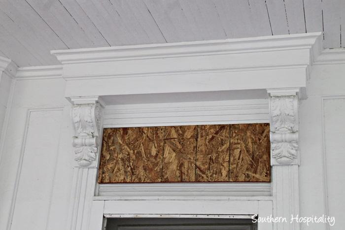 door molding detail