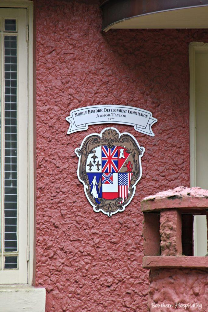 mobile oakleigh historic plaque