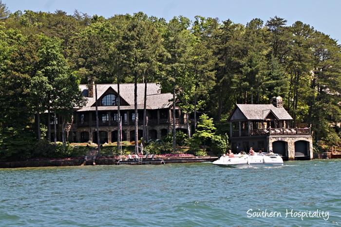 Alan Jackson House Lake Burton Images