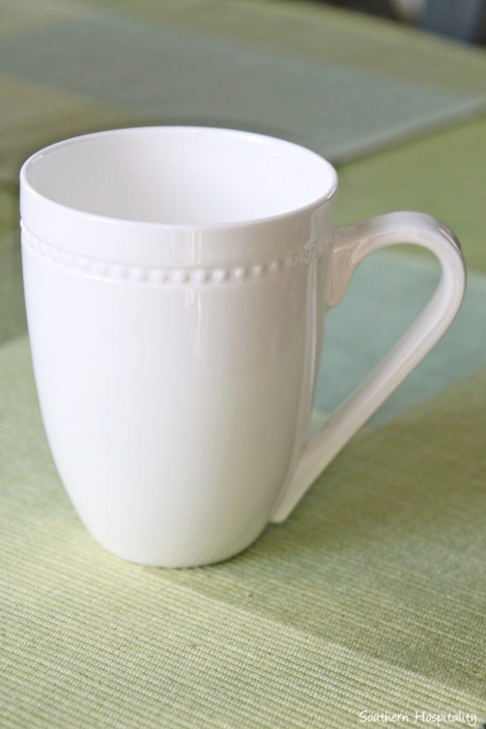 mikasa loria mug