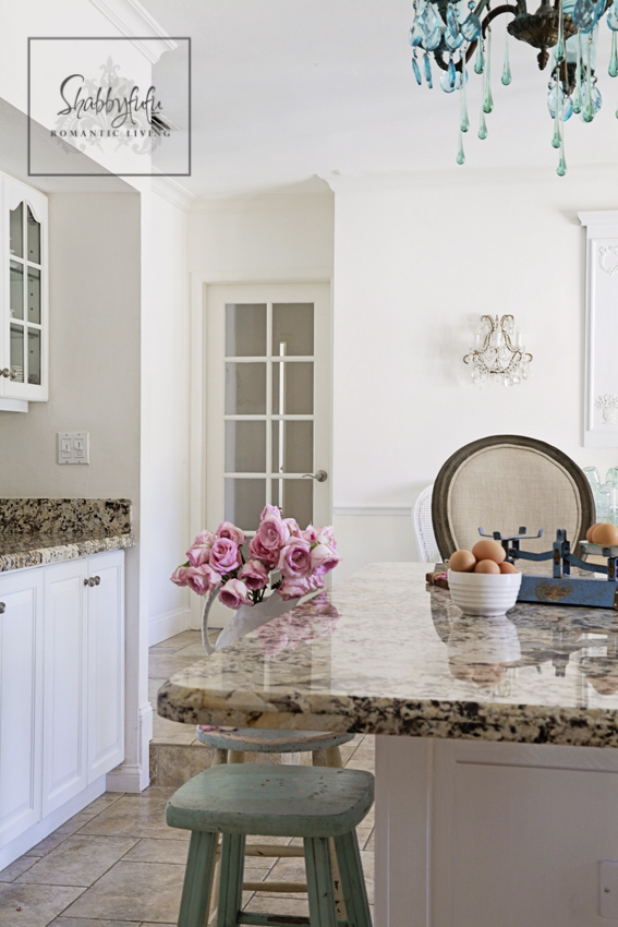 White Kitchen Aqua Accents feature friday: shabbyfufu - southern hospitality