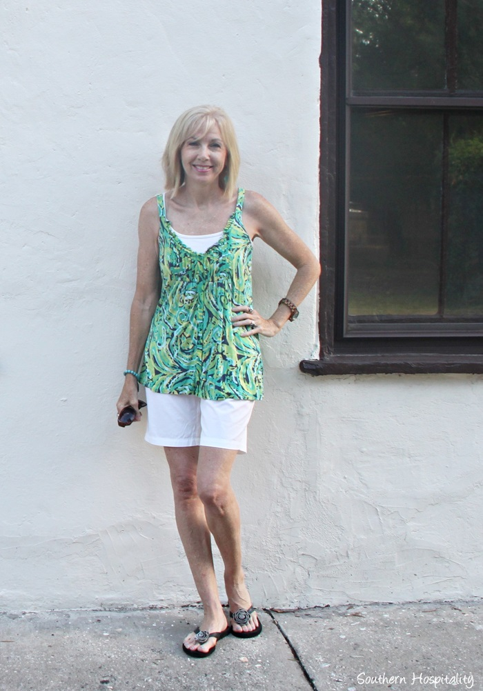 Fashion over 50: Casual Summer Shorts - Southern Hospitality