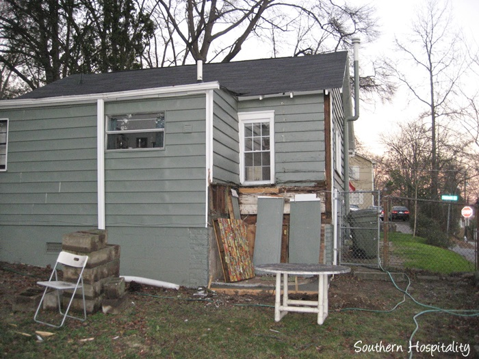 backyard paradise back of house before_20150723