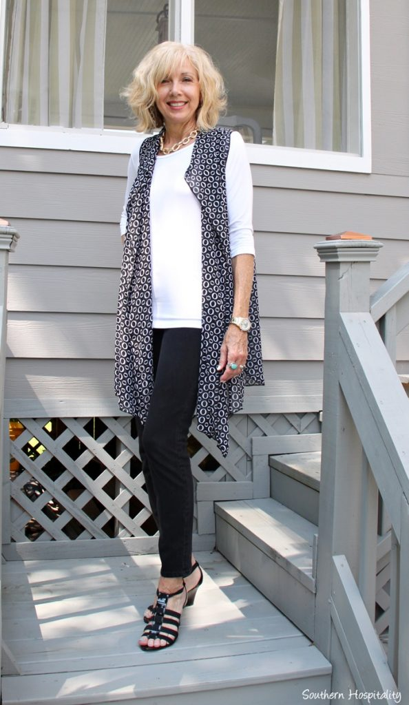 Fashion Over 50 Long Tunic From Covered Perfectly