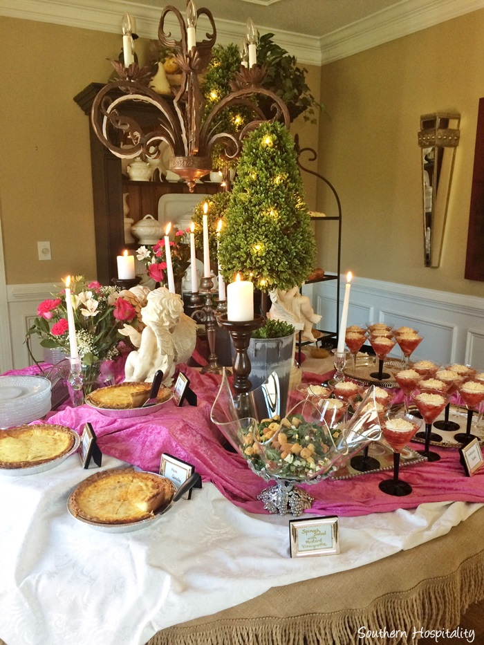 Bridal Shower Brunch Ideas Southern Hospitality