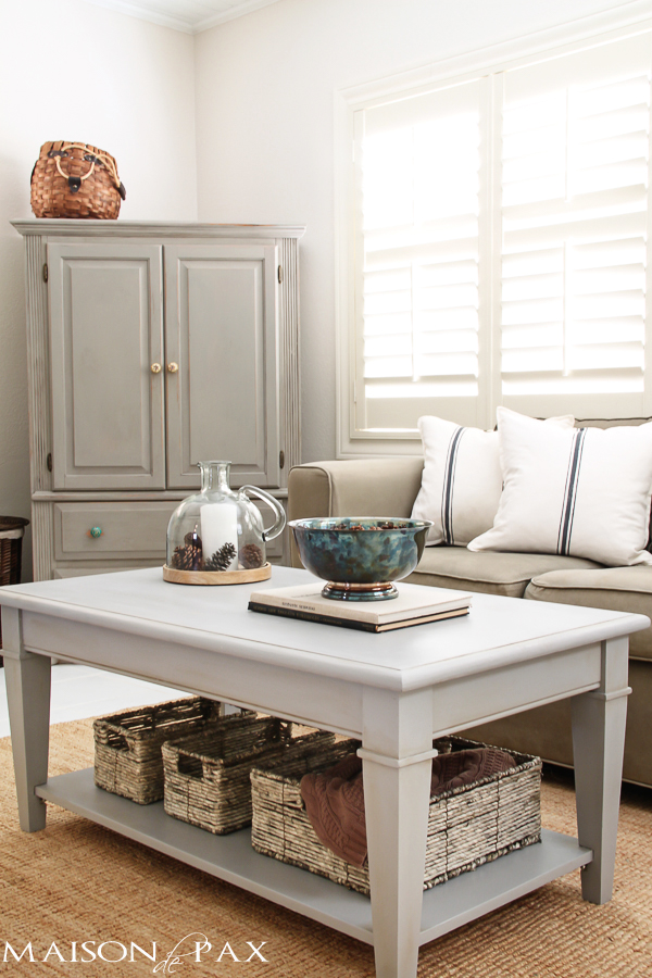 Gray-Coffee-and-Side-Tables-gray-armoire