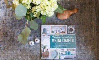 DIY Rustic Modern Metal Crafts Book Launch!